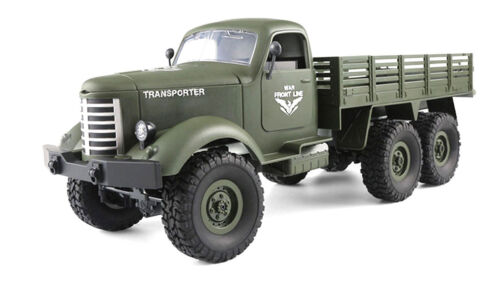 Batterie militaire camion 6wd 1:16 RTR Chargeur NEUF vert incl U.S