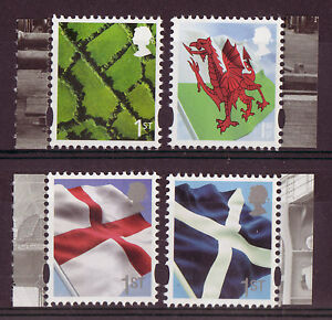 GREAT-BRITAIN-2014-NEW-REGIONAL-SET-OF-4-LITHO-UNMOUNTED-MINT