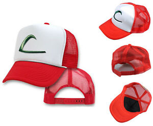 POKEMON-ASH-KETCHUM-CAP-EMBROIDERED-Hat-NEW
