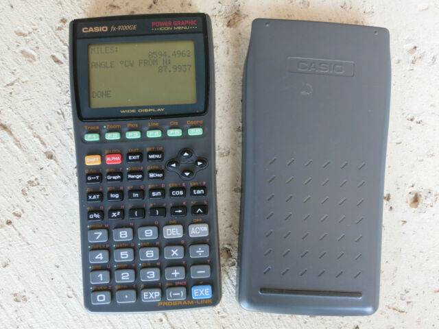 CASIO fx-9700GE Calculator with Cover