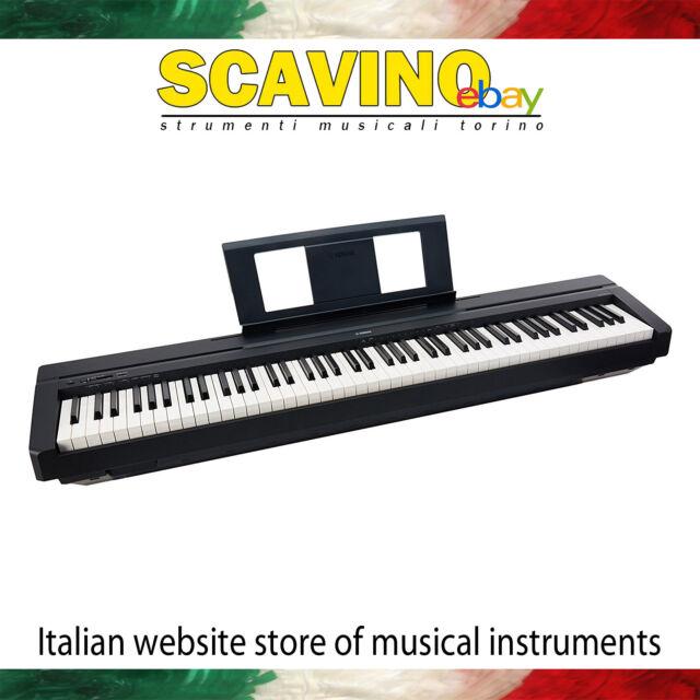 Yamaha P45 Nero Pianoforte Digitale 88 tasti pesati