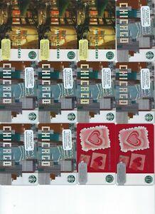 58-Unused-Starbucks-Gift-Cards-Bonus-1-scratched-5-bonus-cards-Zero-Balance