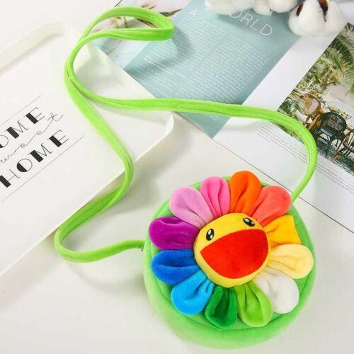 Fashion ChildrenSunflower Animals Messenger Bag Kids Ke  Girls Shoulder Bag Cute