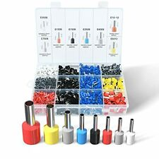 Wire Ferrules Terminals Kit Wieprima 2000pcs Ferrule Crimping Kit Assortment