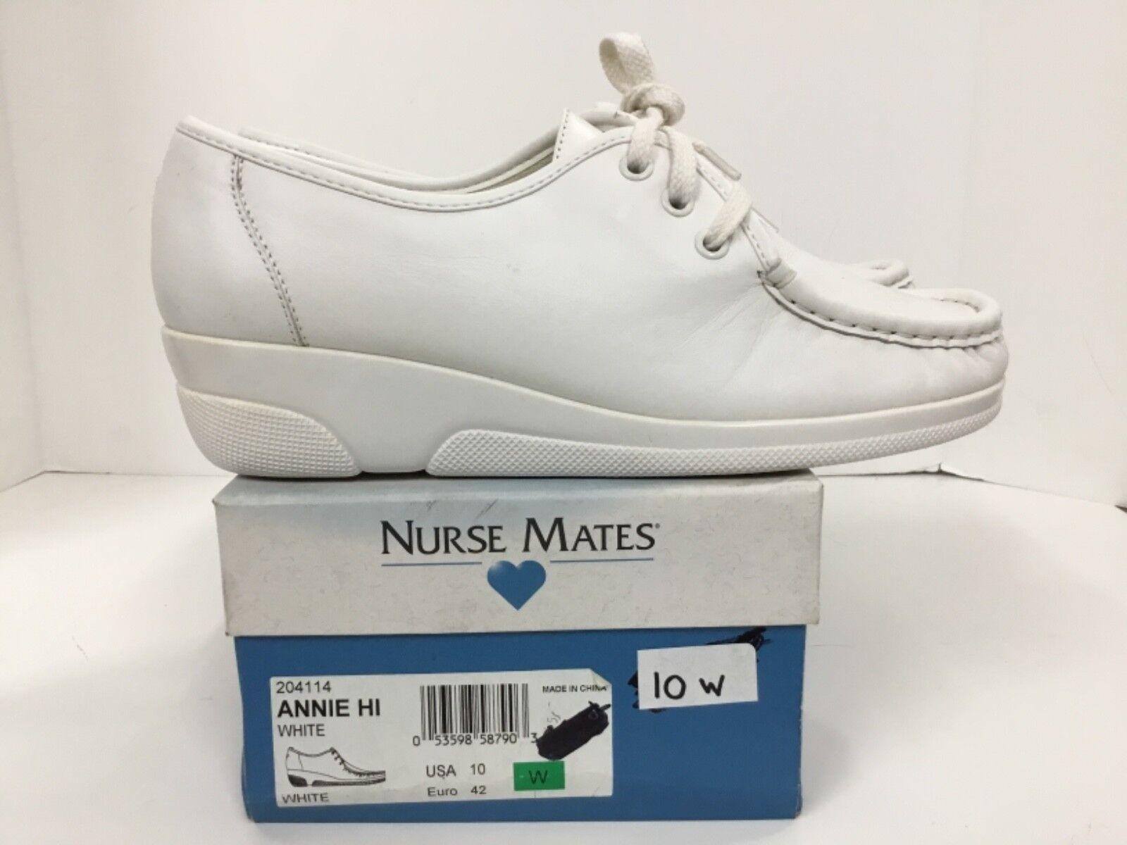 Nurse Mates Annie Hi estilo Nº Nº Nº 204114 Talla 10 de ancho 28ca1c