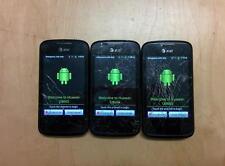 Huawei U8665 AT&T Fusion2 Black 4GB Prepaid Phone Broken LCD Screen 3G 4G Used