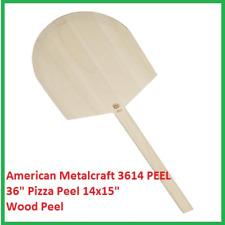 American Metalcraft 3614 Peel 36 Pizza Peel 14x15 Wooden Peel