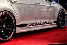 RSV2 Seitenschweller Schweller Sideskirts ABS für Audi A4 B8