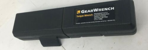 """USA Made GearWrench 85050 1//4/"""" Drive Micrometer Torque Wrench 30-200 in//lbs"""