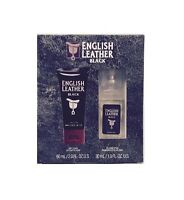 English Leather Black Dana 1.0 Oz Men's Cologne Spray + 2.0 Body Lotion Set on sale