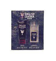 English Leather Black Dana 1.0 Oz Men's Cologne Spray + 2.0 Body Lotion Set on sale