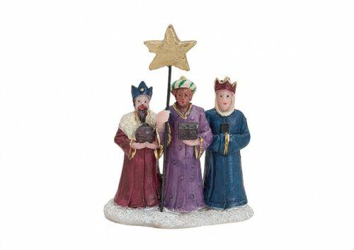 Weihnachtsdorf Wurm-Figuren Polyfiguren Heiligen 3 Könige 13707-213