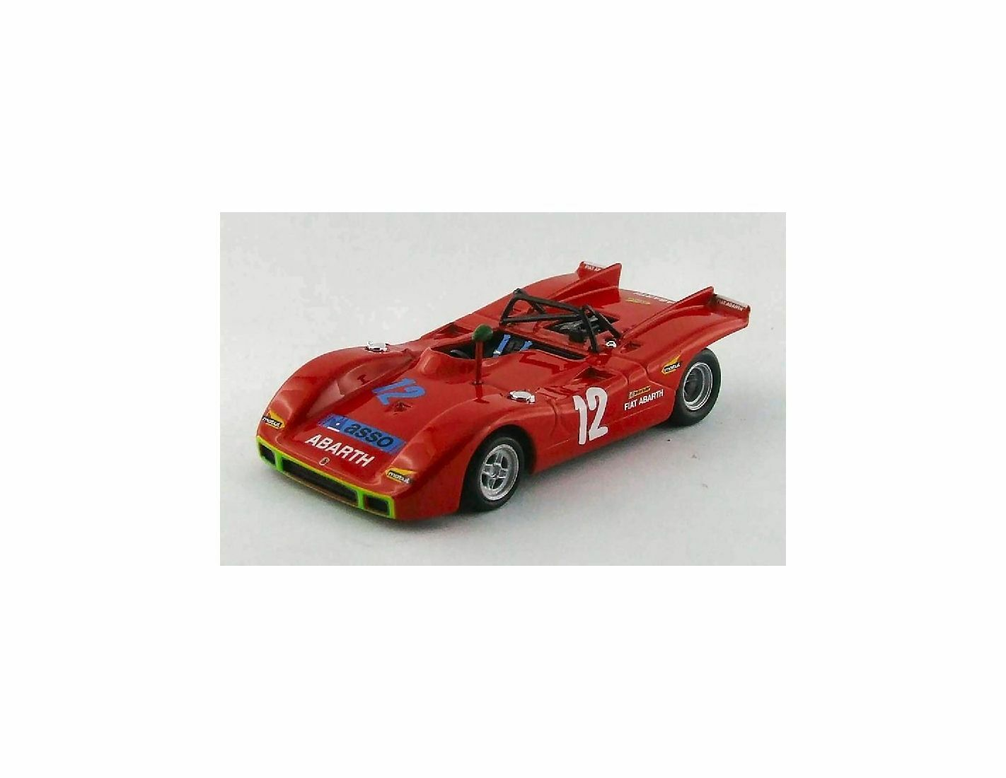 Best Model BT9540 ABARTH SP 2000 N.12 RETIrosso TARGA FLORIO 1971 OSTINI-TARAMAZZO