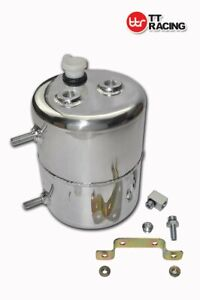 Aluminium Alloy 2L Vacuum Brake Booster Canister Reservoir Tank Chevy POLISHED