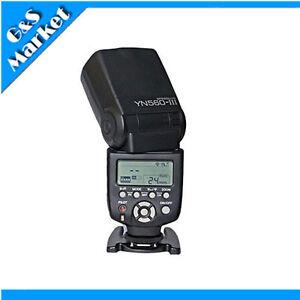 Yongnuo YN560-III Flash Speedlite for canon 400D 350D 300D 1100D 1000D 50D 40D