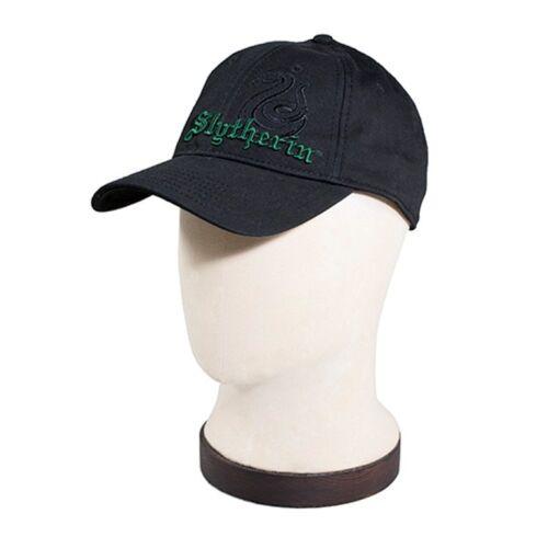 Harry Potter Slytherin Crest Universal Studios Black Baseball Cap Hat WWOHP