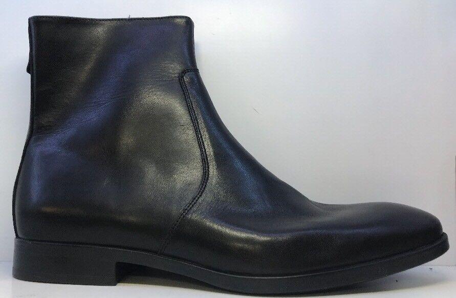 Ask The Missis Men's Black Ankle Boots Eu 44