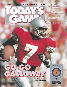 Ohio State vs Illinois 1994 college football program and ...