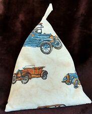 Bean bag cushion stand for iPad tablet kindle book. Handmade. Vintage Cars