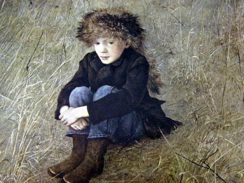 Andrew Wyeth Gravure Print FARAWAY The Walk