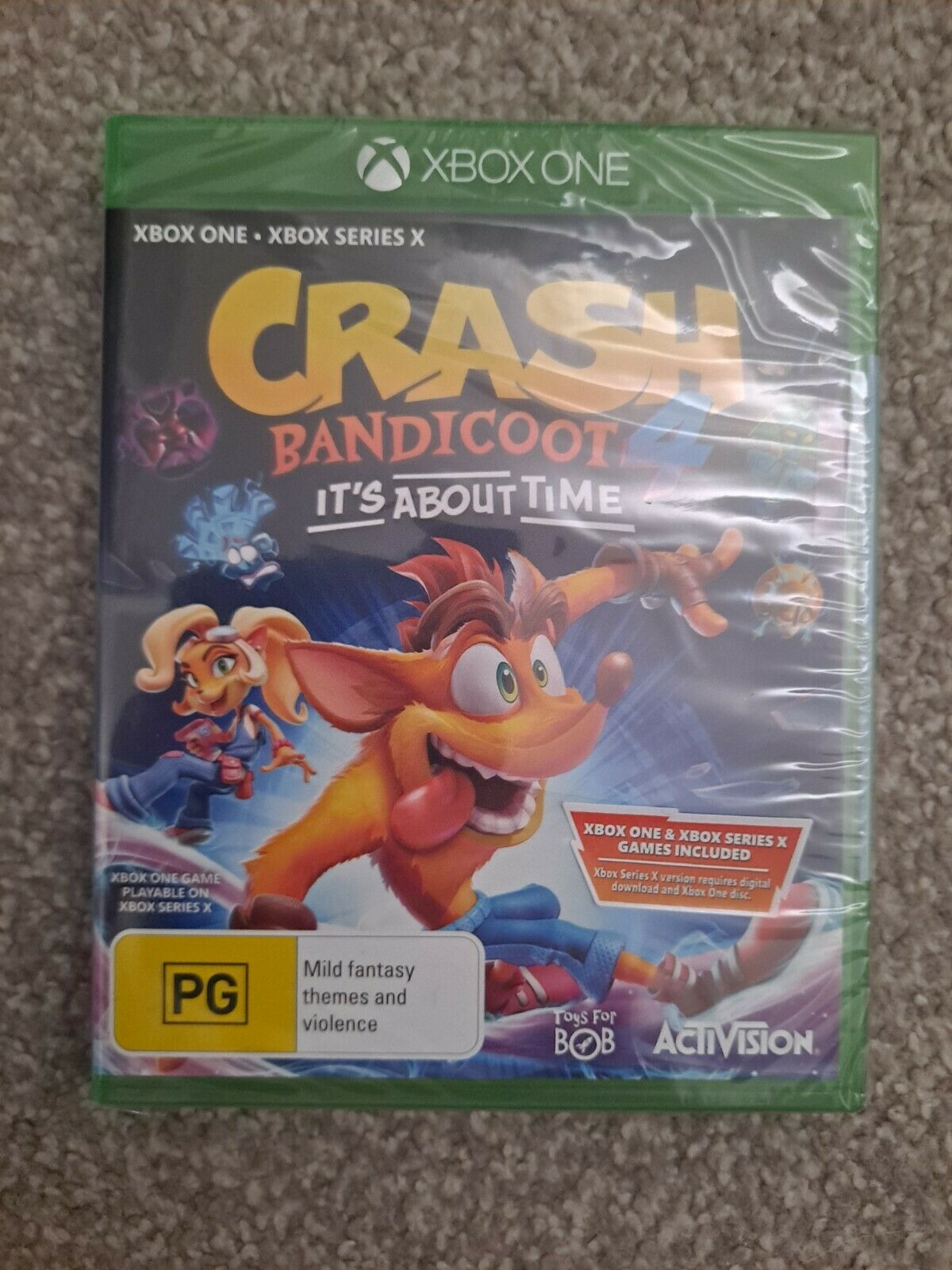Crash Bandicoot 4 It's About Time * Xbox One * New