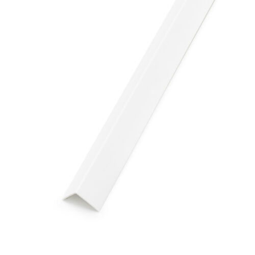 Winkelleiste PVC 30x20mm Weiss Winkelprofil Kunststoffwinkelprofil Profil 2m