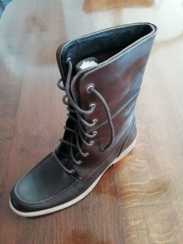 Fur And Uk Top Size Boots Leather Ugg High 10 w7qffH