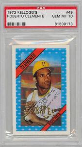 Roberto Clemente Baseball Card 1972