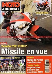 MOTO-JOURNAL-1301-HONDA-CB-500-S-YAMAHA-YZF-1000-R1-BENELLI-750-Sei-BERCY-1997