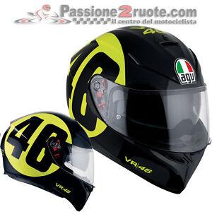 Helmet-Agv-K3-Sv-Valentino-Rossi-pinlock-Bollo-46-casco-moto-integral-helm-XL