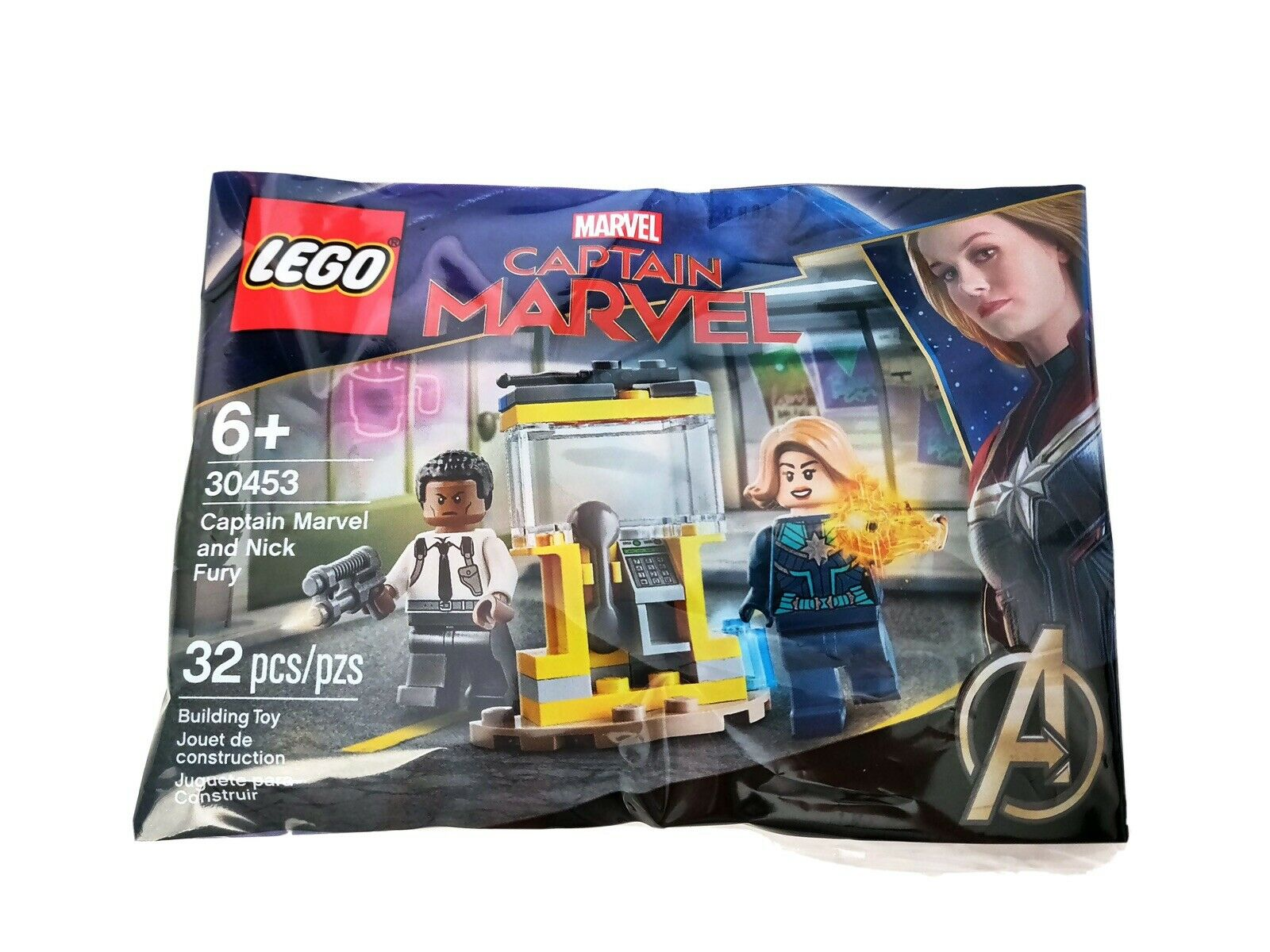 Minifigure Figurine New From 30453 Lego Super Heroes Captain Marvel sh605