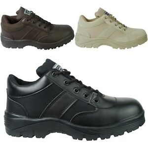 17e686636b0 Details about Savage Island Army Combat Patrol Shoes Tactical Police Prison  Security Tan