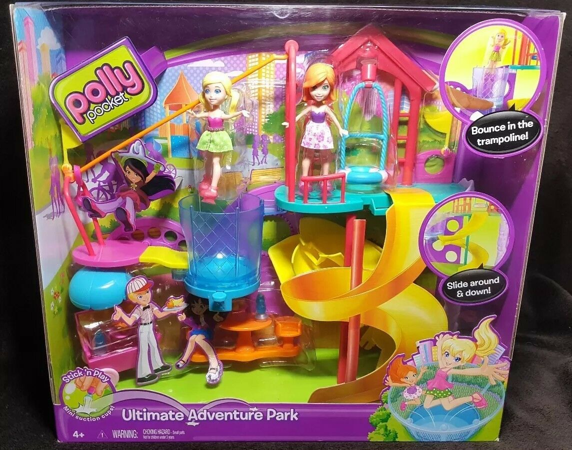 Polly Pocket Ultimate Aventura Park Playset  2012 Mattel  Nuevo Sellado