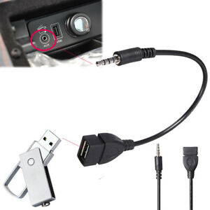 3-5mm-Maschio-Aux-Audio-Jack-a-USB-2-0-Cavo-adattatore-convertitore-per-auto-MP3