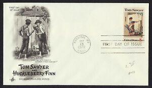 #1470 8c Tom Sawyer, Arte Artesanía FDC Cualquier 4=