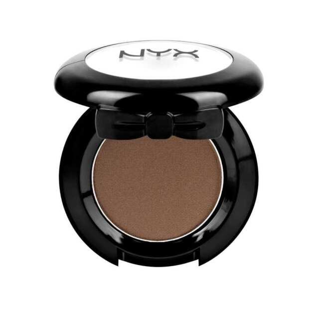 1 NYX Hot Singles Eye Shadow HS81 Tweed ( Matte deep brown ) New & Sealed