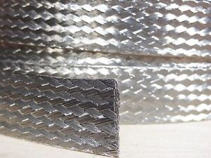 10 FEET 1/2 BRAIDED GROUND STRAP GROUNDING Tinned Copper Flat Braid MADE IN USA