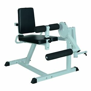 seated leg extension and curls machine home gym fitness
