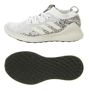 c87c9a3807dbd Adidas Men Pure Bounce Shoes Running Training White Sneakers Boot ...