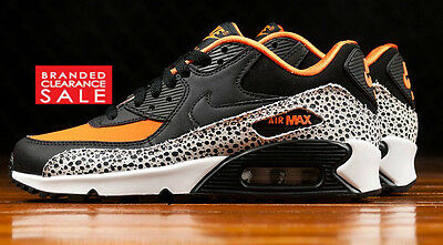 BNIB New Women Nike Air Max 1 White Bright Mango Blue Size 3 4 5 6uk