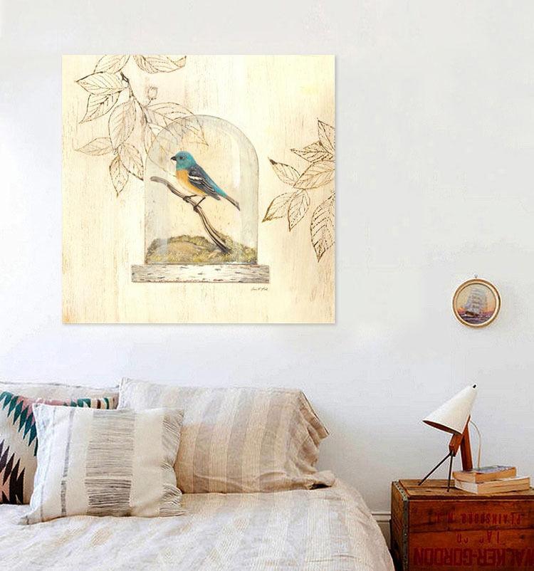3D Vogelkfig der Vogel 534 Fototapeten Wandbild BildTapete Familie AJSTORE DE