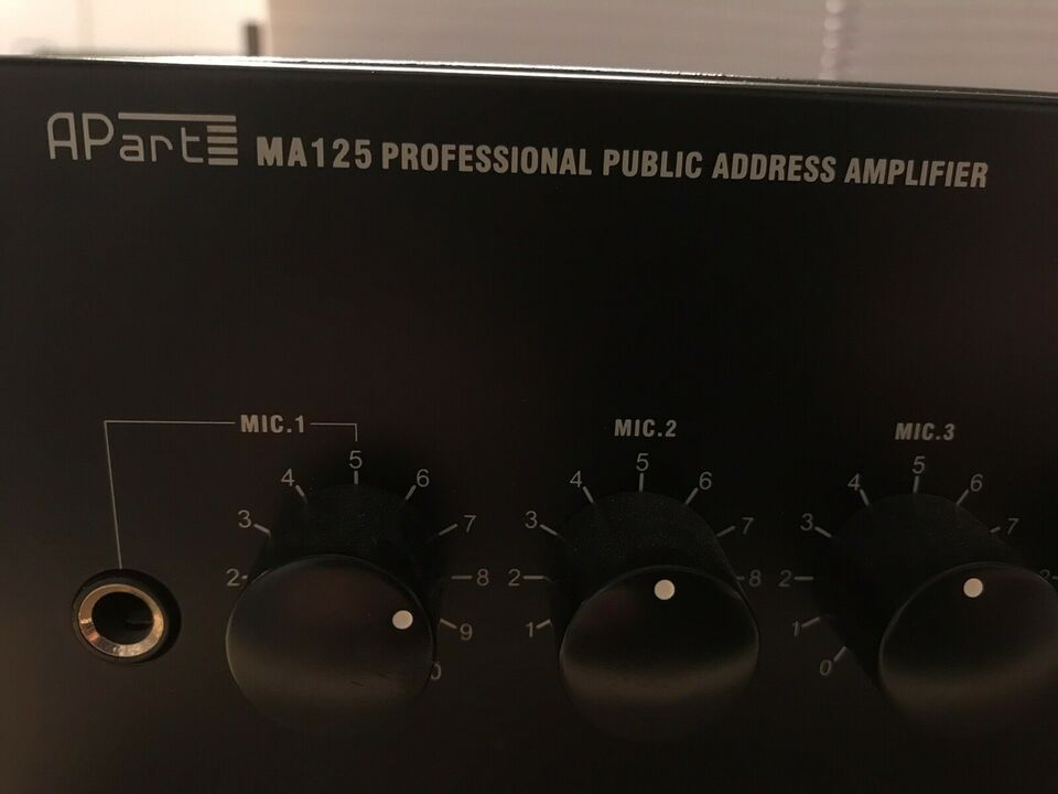 Forstærker, APart, MA125