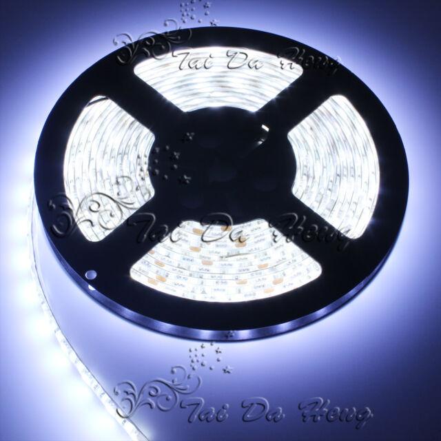 5M SMD 3528 5050 RGB White 300LEDs Flexible LED Strip Lights 12V Power Supply