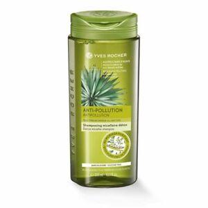 Yves Rocher Hair Care Detox Micellar Shampoo Anti Pollution Silicone Free 300ml