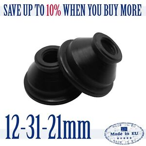 2-X-High-Quality-Rubber-12-31-21-Dust-Cover-and-Ball-Joint-Boots-Tie-Rod-End
