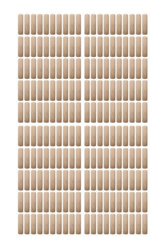 0037 Holzdübel Riffeldübel Holzverbinder FSC® 8x25mm 200 Stück