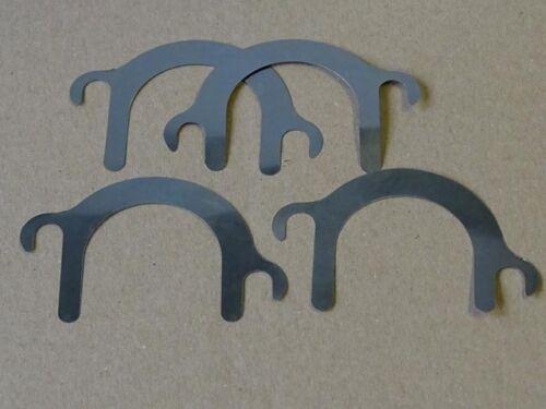 4x Einstellscheibe Einspritzpumpe für Deutz F1L612 F2L612 D25 612 Distanzscheibe