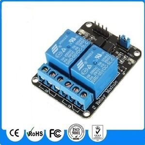 3-3V-5V-Opto-Isolated-2-x-Relay-Board-For-Arduino-AVR-Microchip-Raspberry