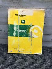 Used John Deere 4650 And 4850 Tractors Operators Manual Om 16854