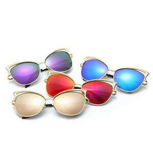 2018-New-Style-Retro-Women-Fashion-vintage-Cat-Eye-Eyewear-Gold-Retro-Sunglasses